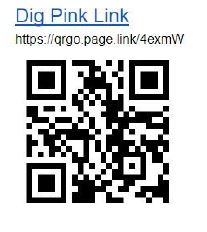 Dig Pink Donation QR code