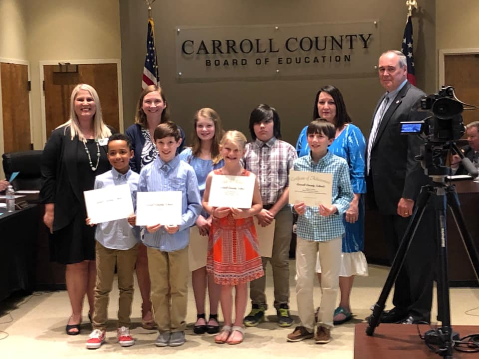 Young GA Author Winners