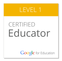 Google Level Certified Educator