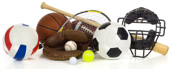 image of miscellaneous sports gear