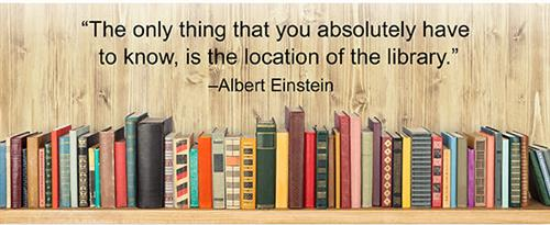 The only thing you absolutely have to know is the location of the library