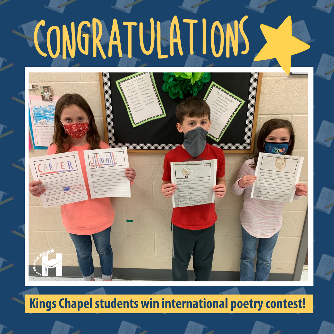KCES Students Win International Poetry Contest