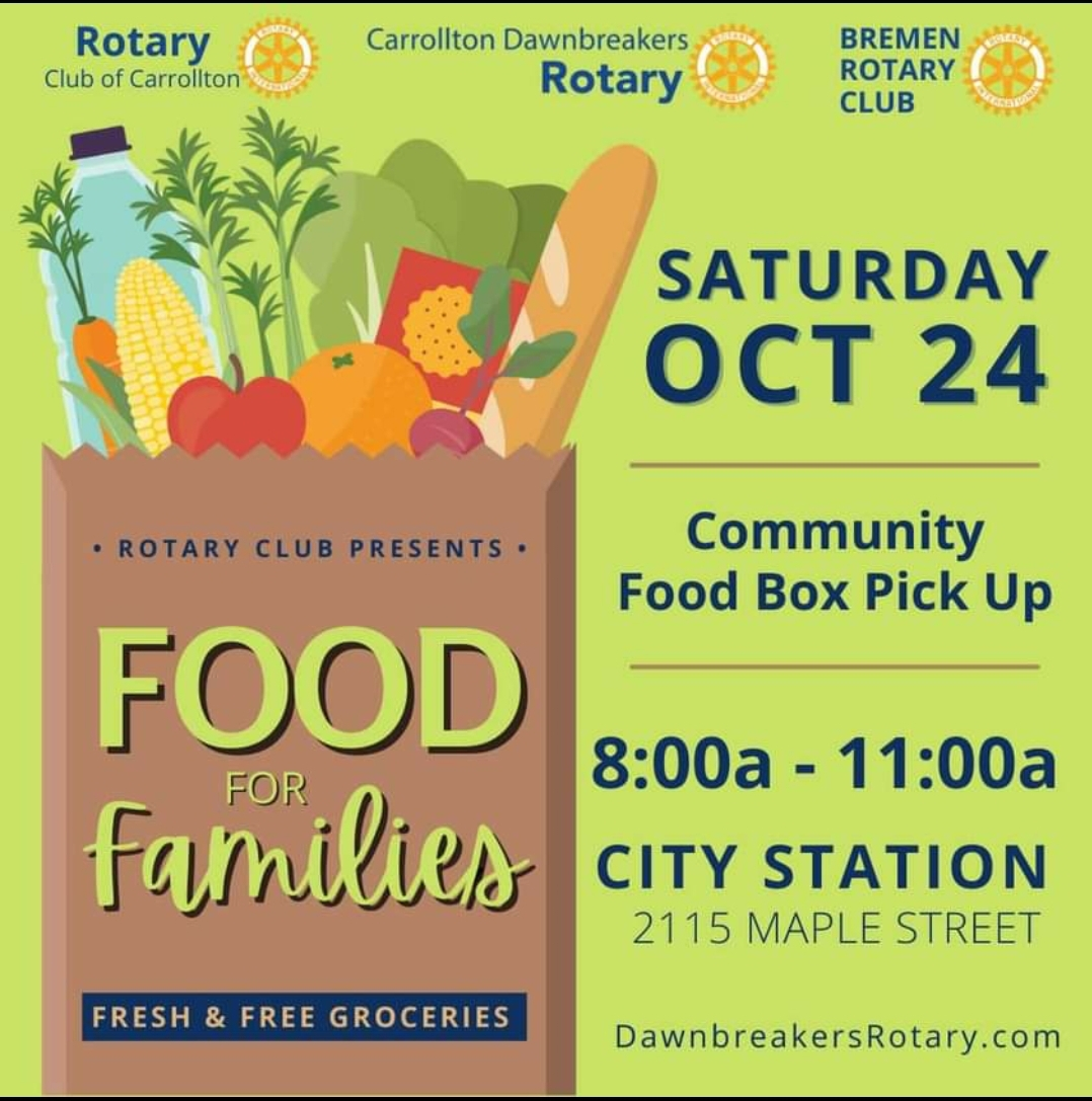 Free and fresh food giveaway