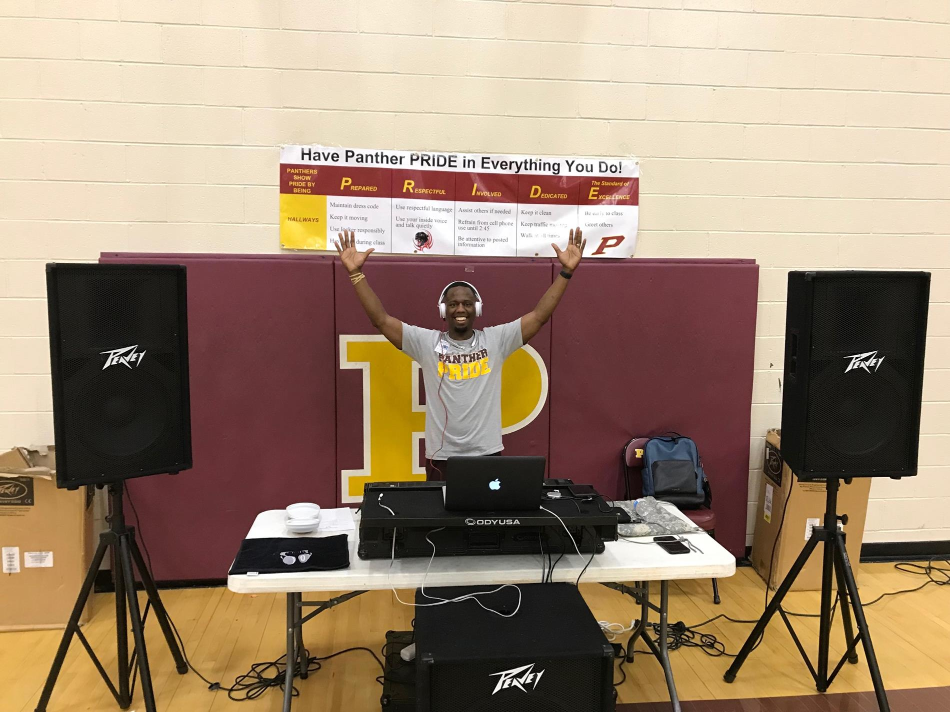 DJ Pinkney at PBIS Celebration