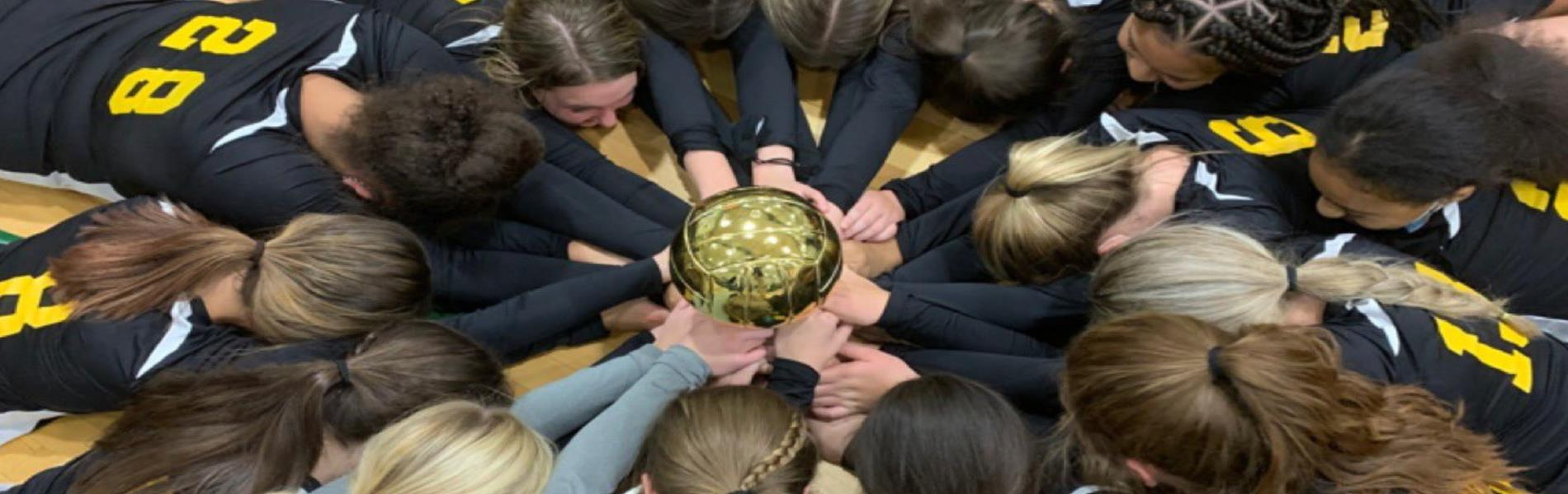 Picture of HMS State Champion Volleyball Players