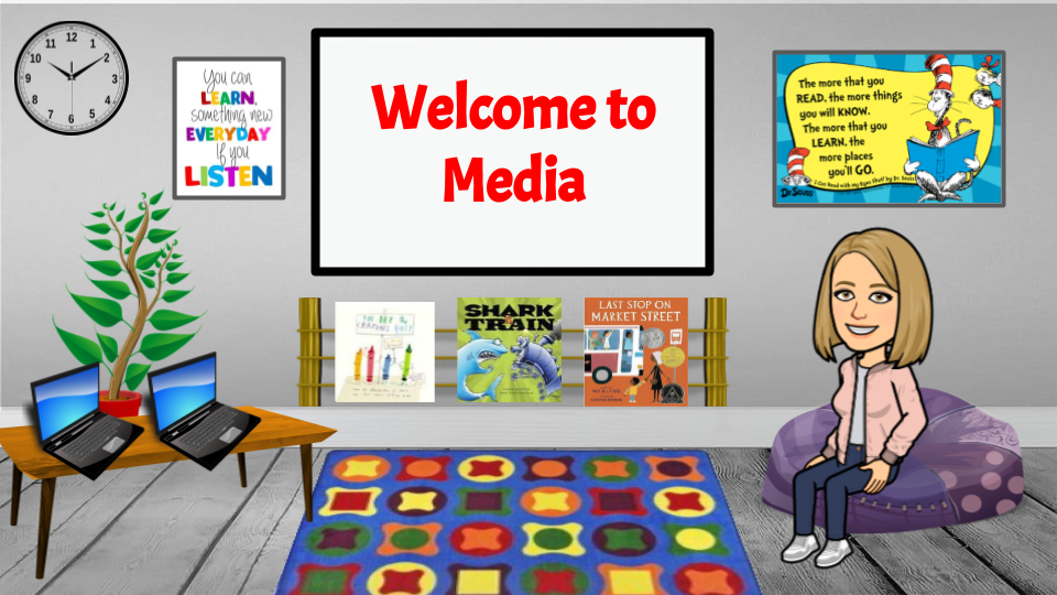 Media Center Welcome Page