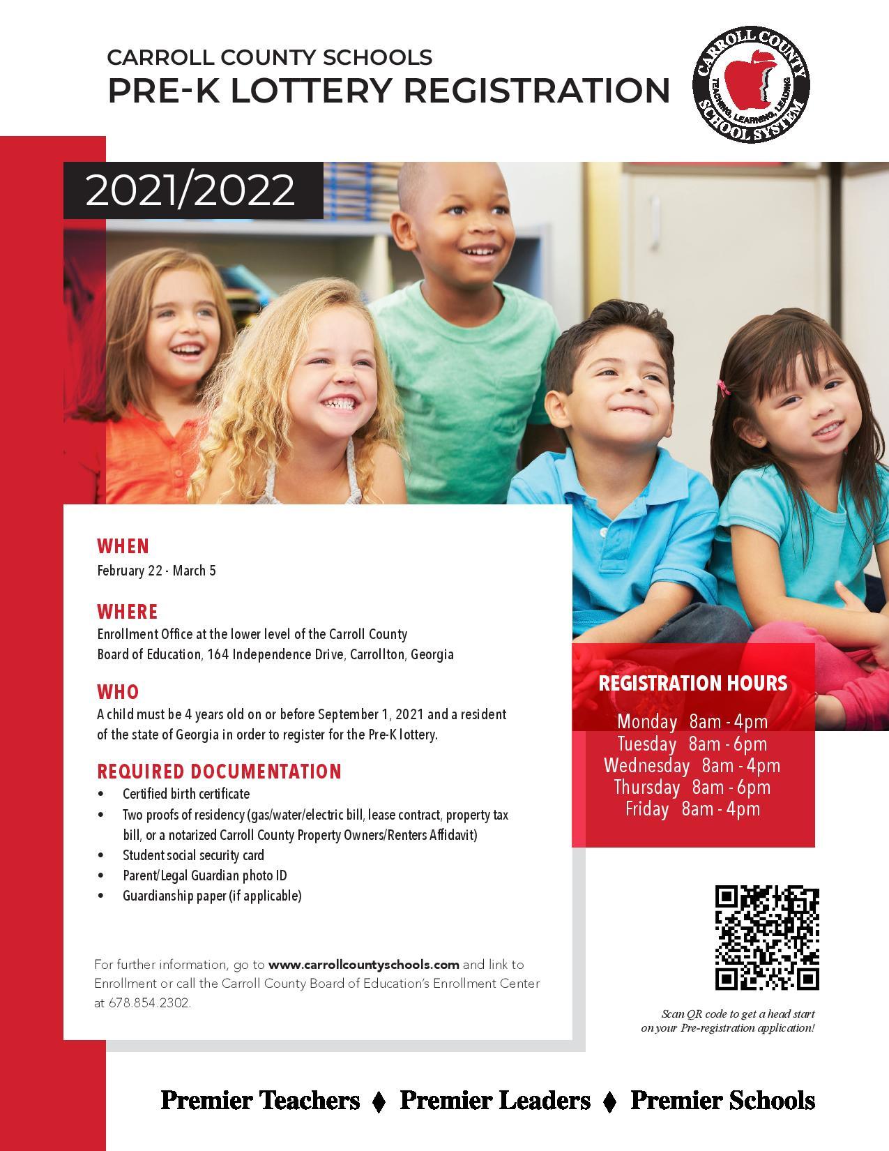 enrollment flyer