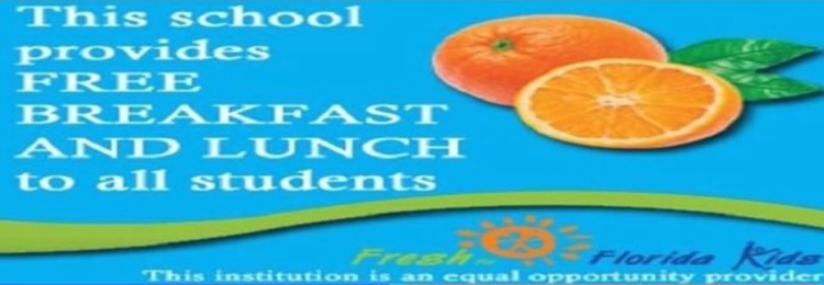 Taylor County Elementary School Offers free breakfast and lunch for all students