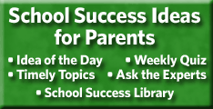 school success tips for secondary parents