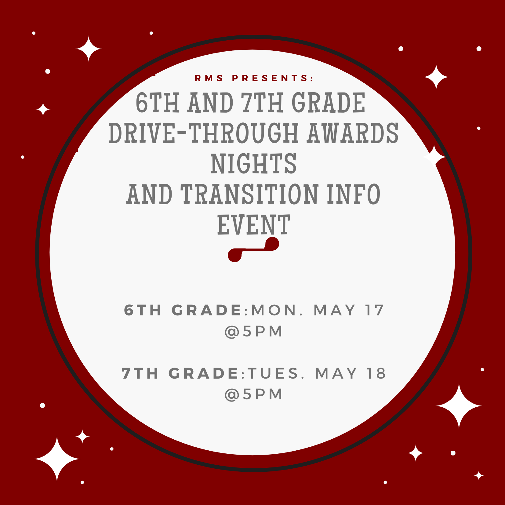 6th and 7th Grade Awards Nights