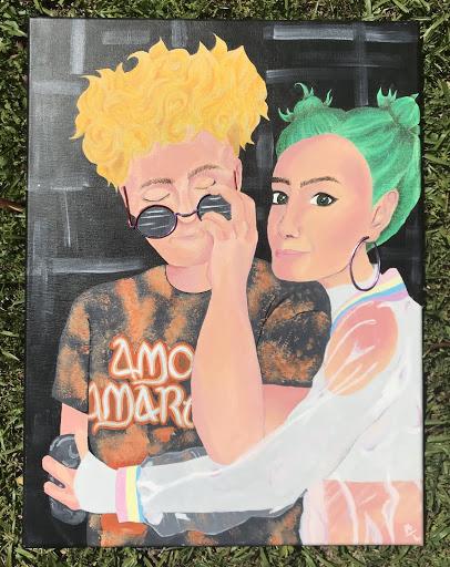 Artwork done by Aurora LLoyd