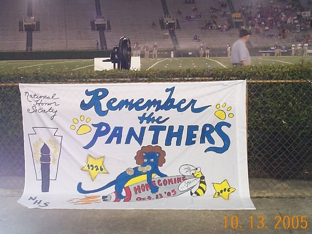 Homecoming Banner 2005 Honorable Mention