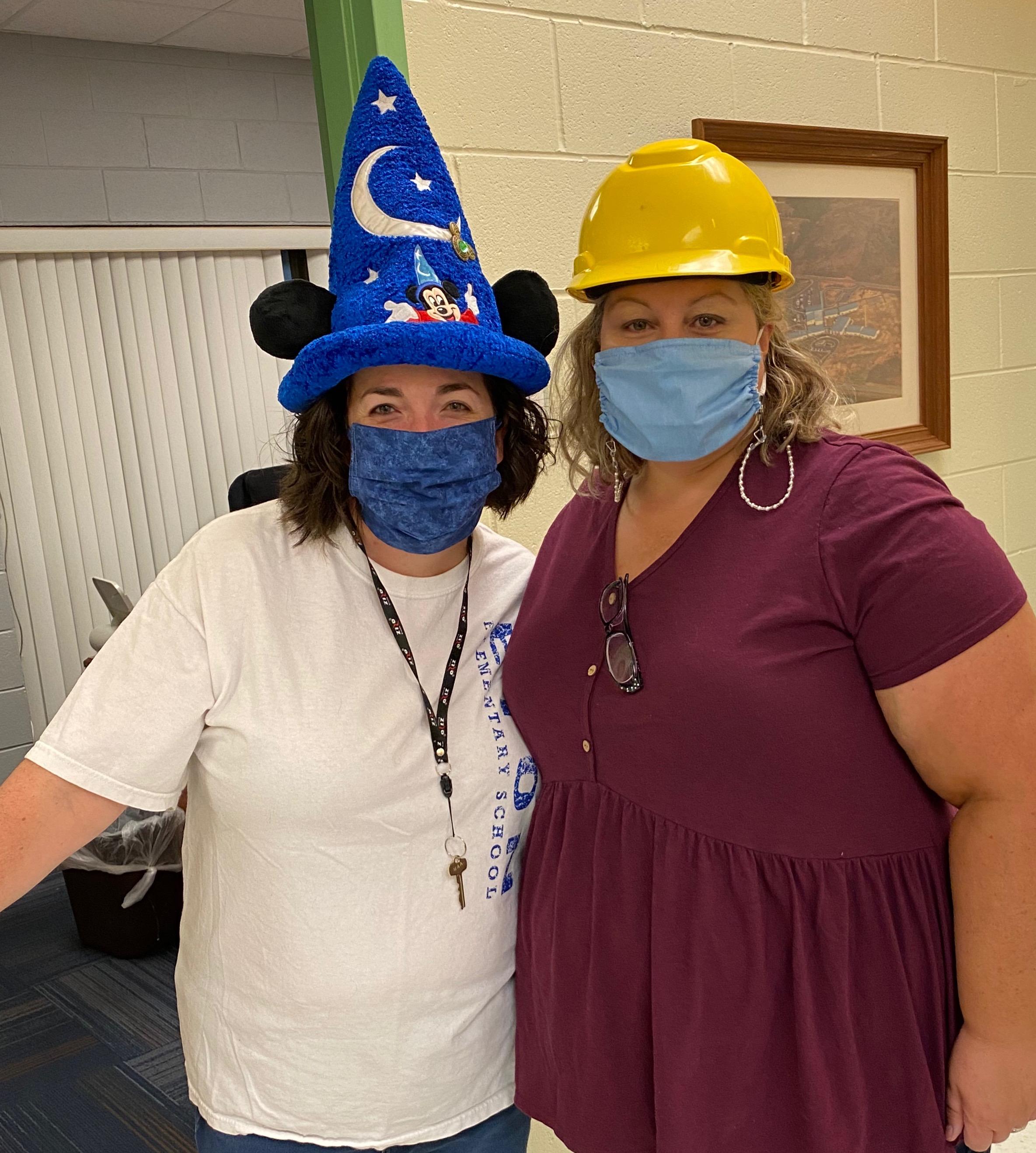 Mrs. Selvage and Mrs. Jones
