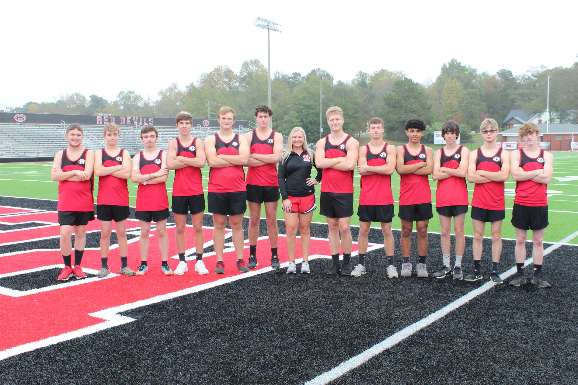 2020 BHS Cross Country Team