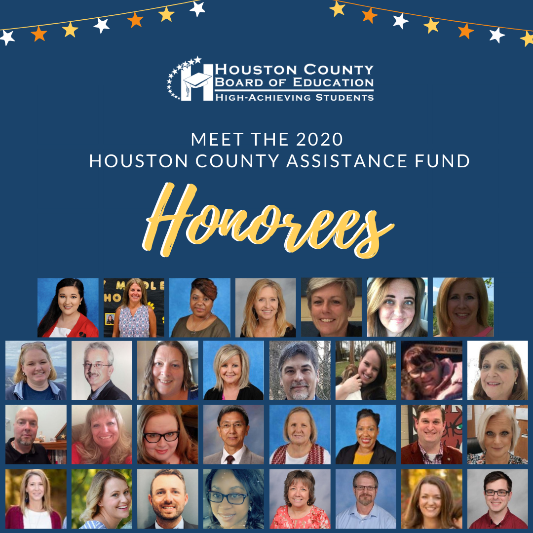Shah 2020 Houston County Education Assistance Fund Honorees