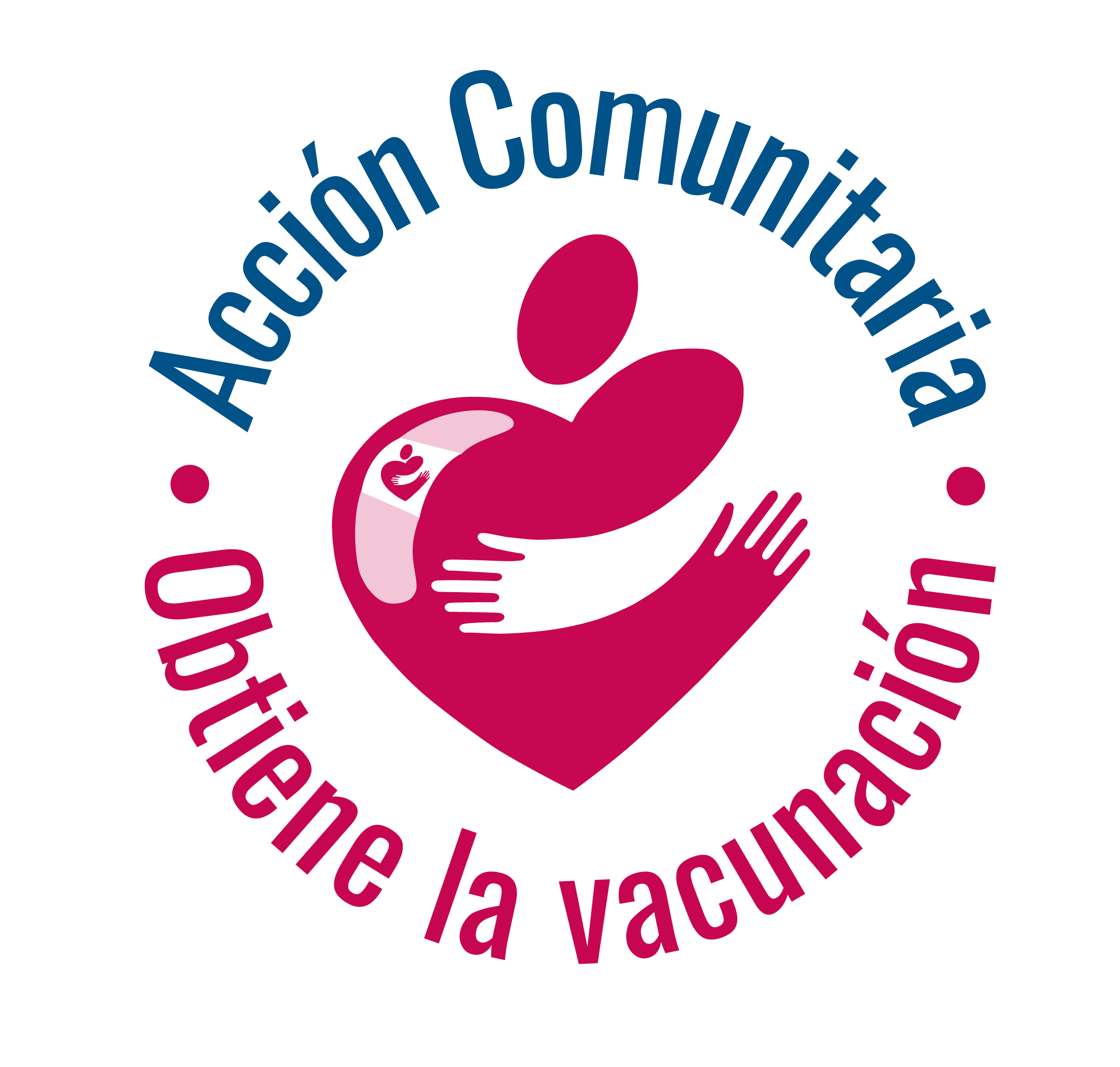 Community Action  Vaccine Logo Spanish