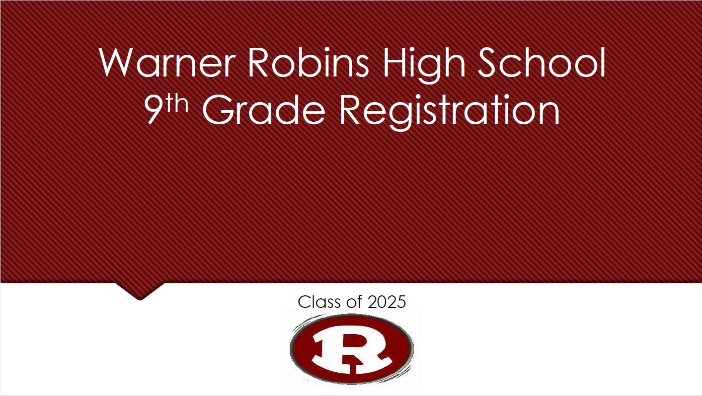 9th Grade Registration