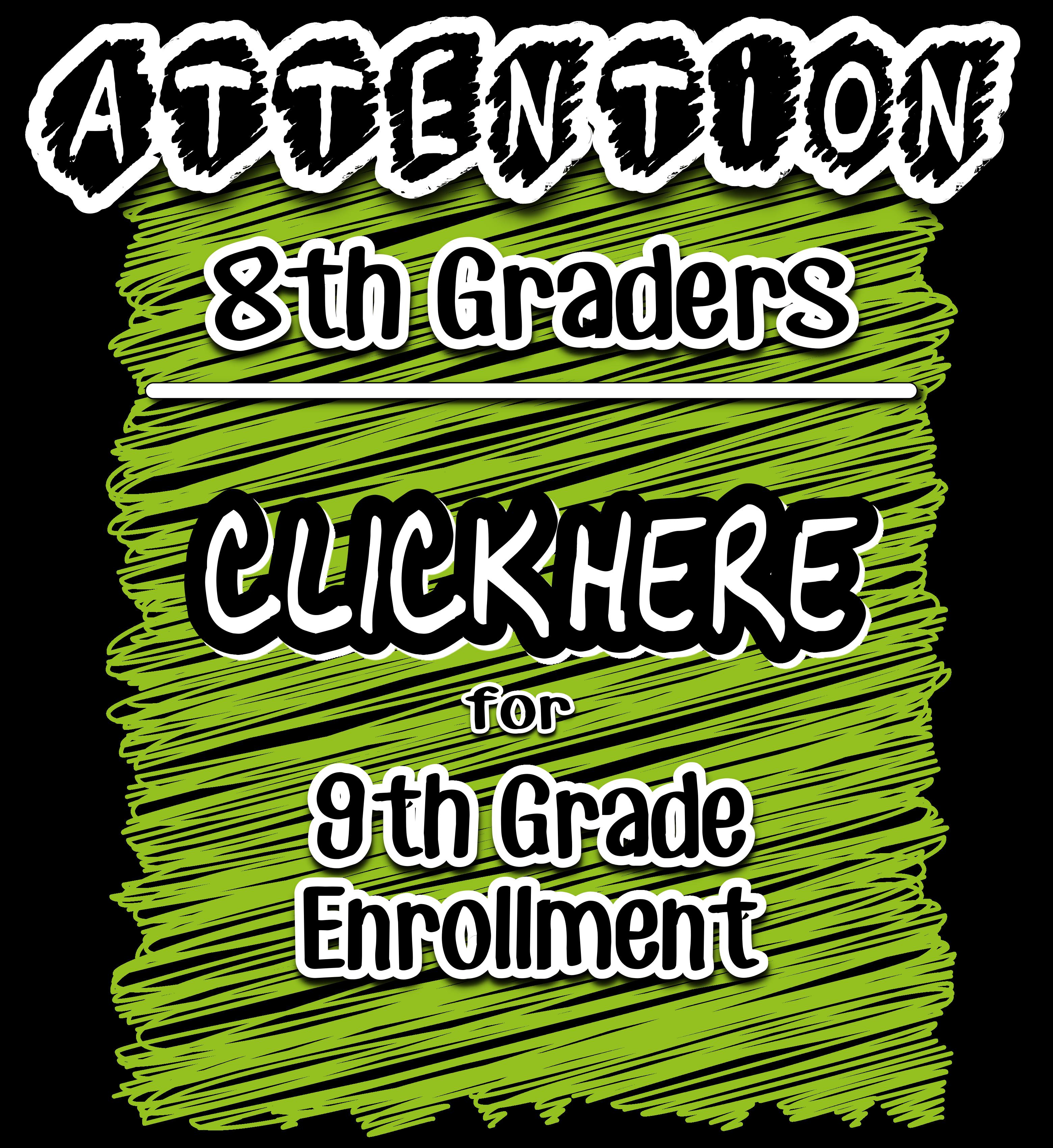 9th Grade Enrollment Form