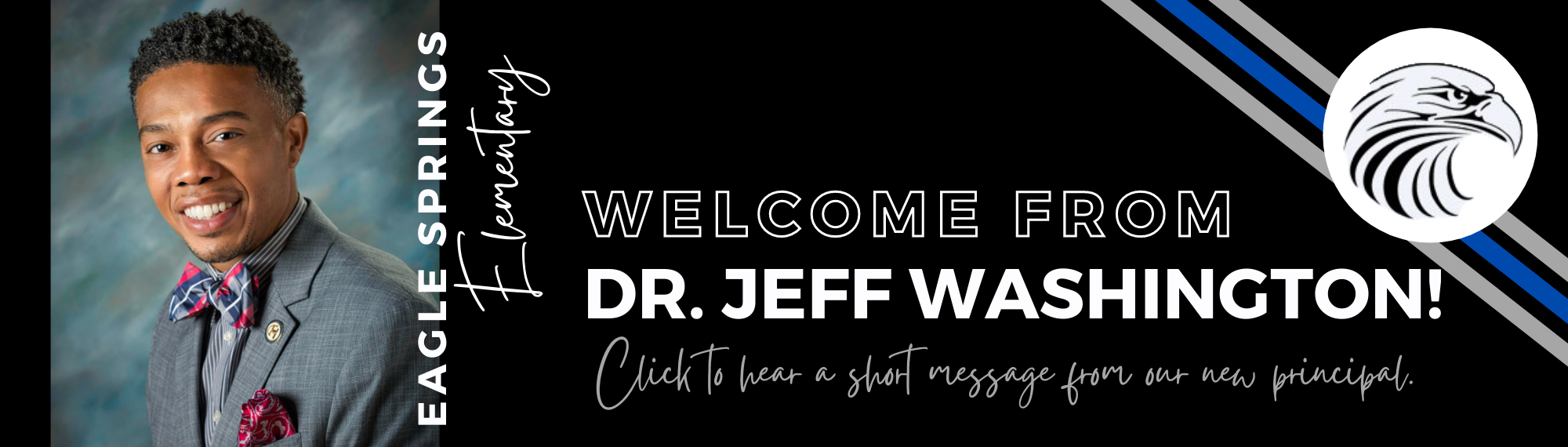 Welcome from Dr. Jeff Washington