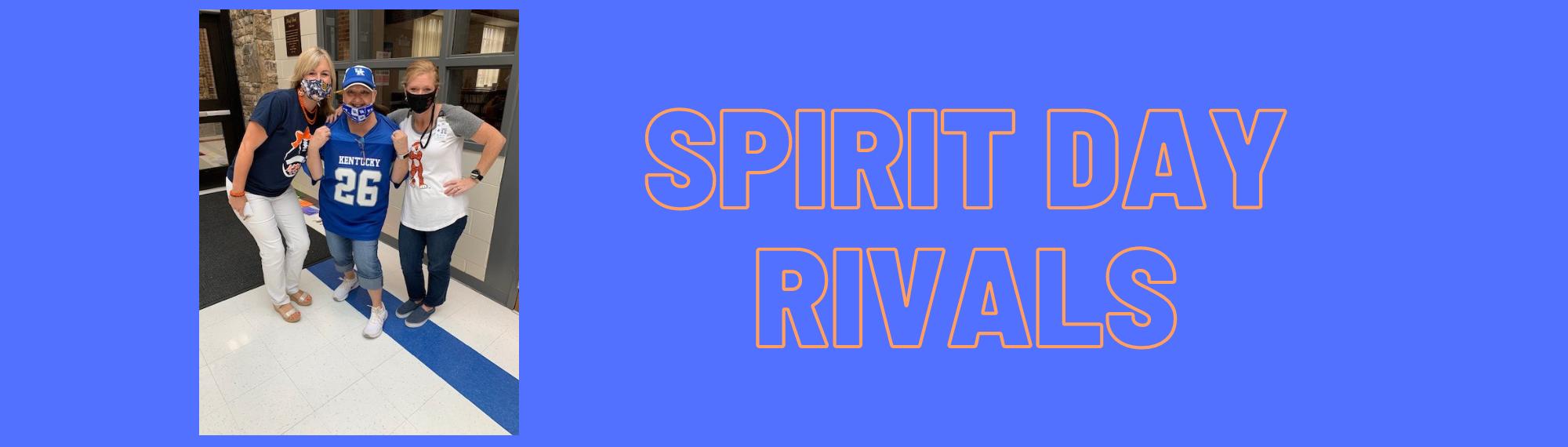 Spirit Day rivals