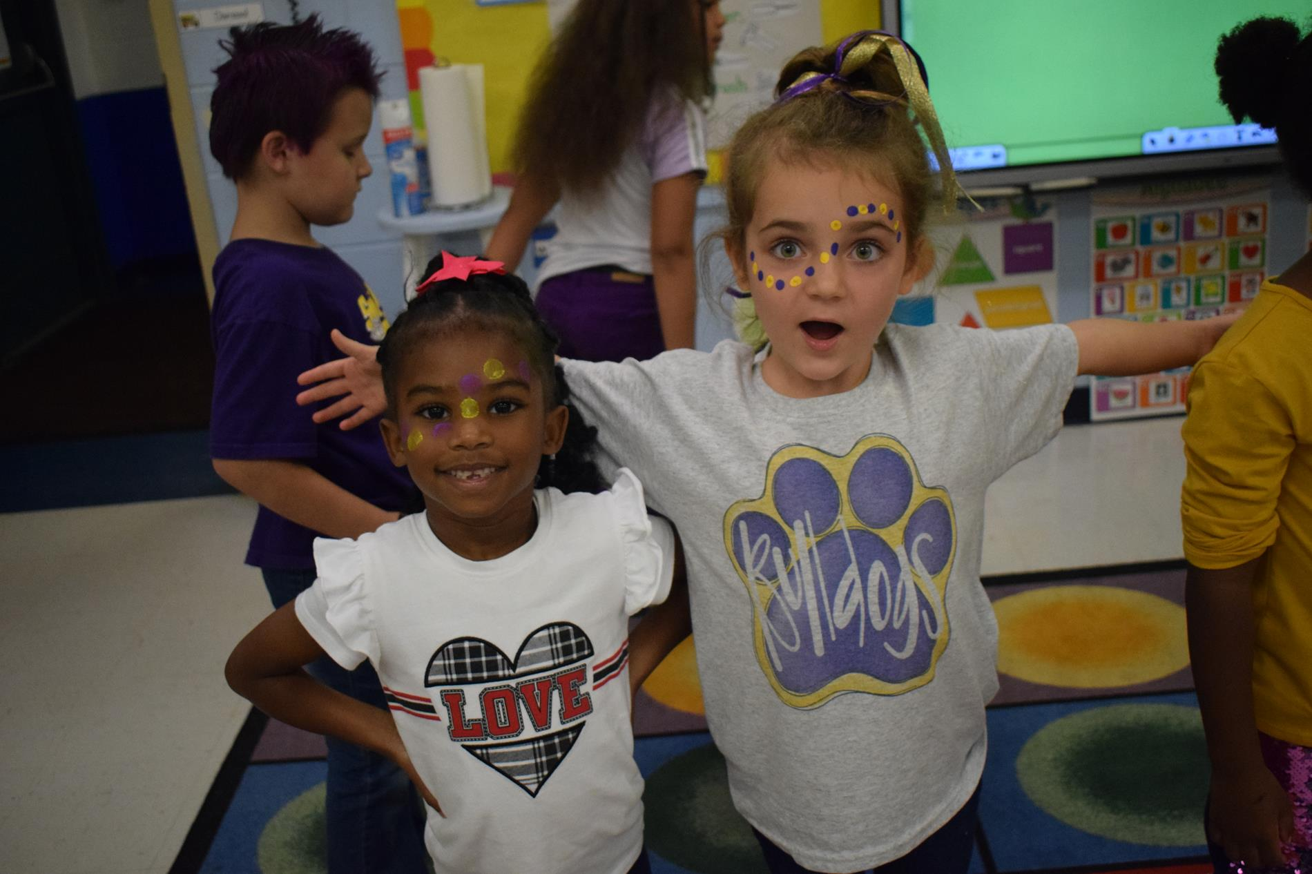 Kindergarten Girls
