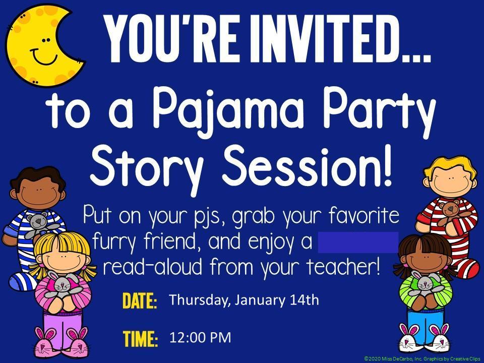 Pajama Party - Read Aloud 1-14-21