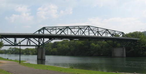 Lewellen Bridge in Clinton, TN