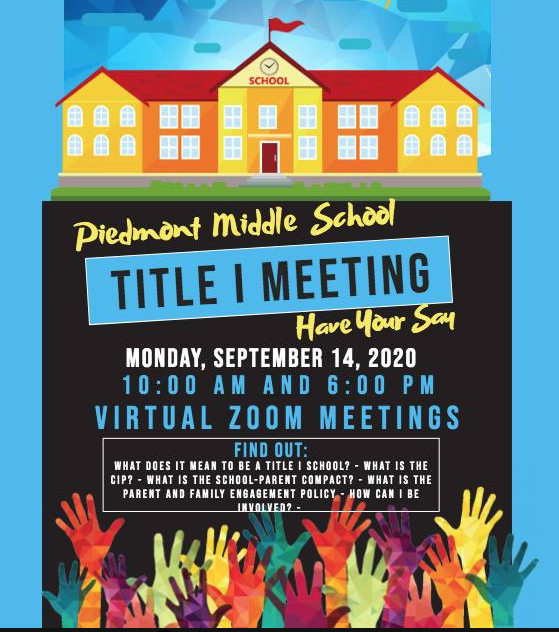Title One Meeting