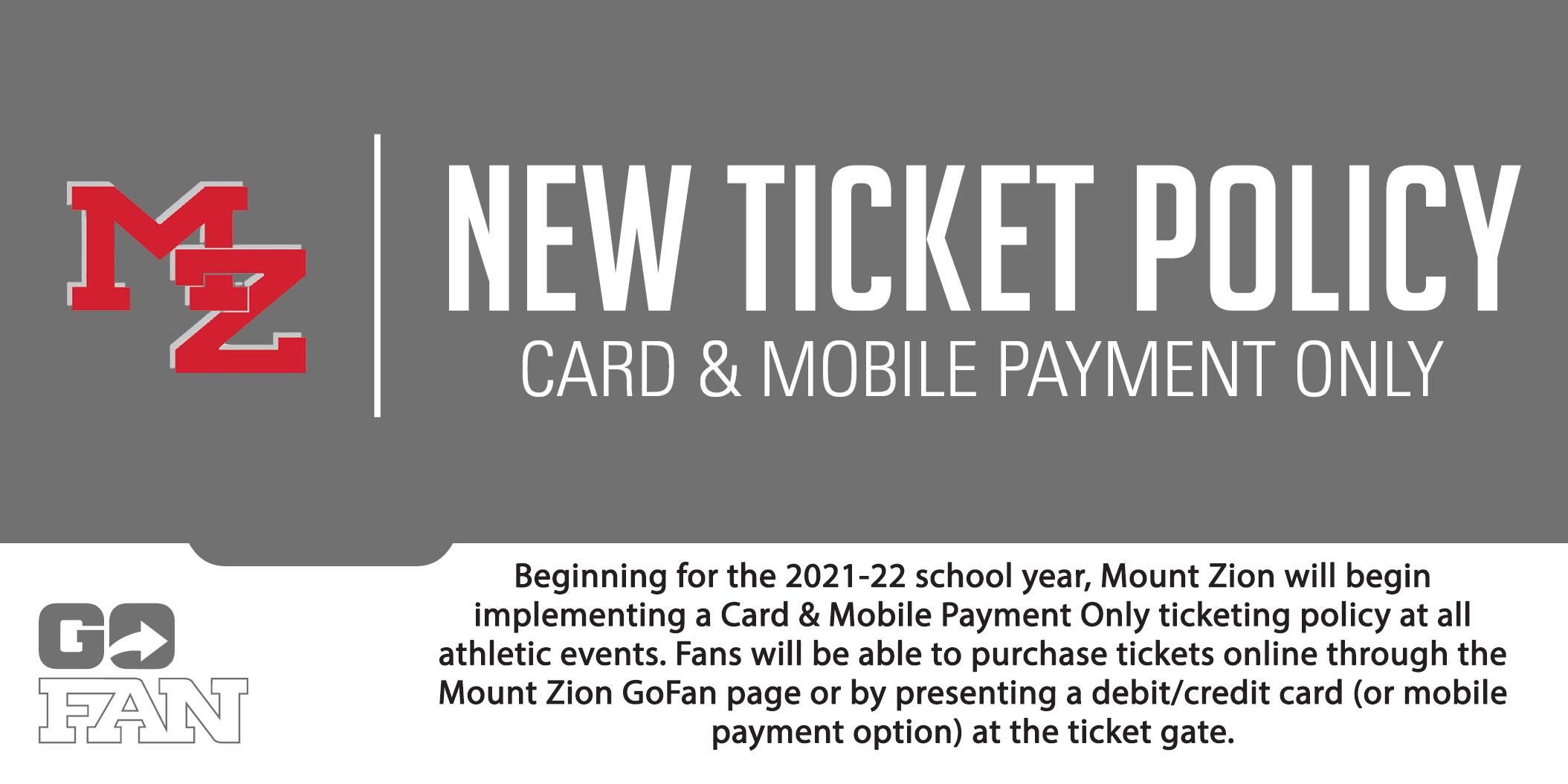GoFan Ticket Information