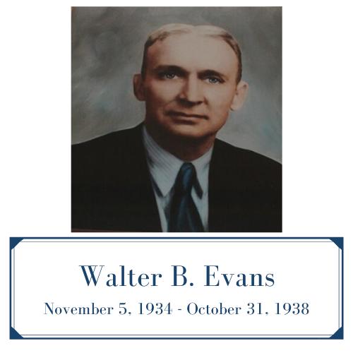 Walter Bower Evans