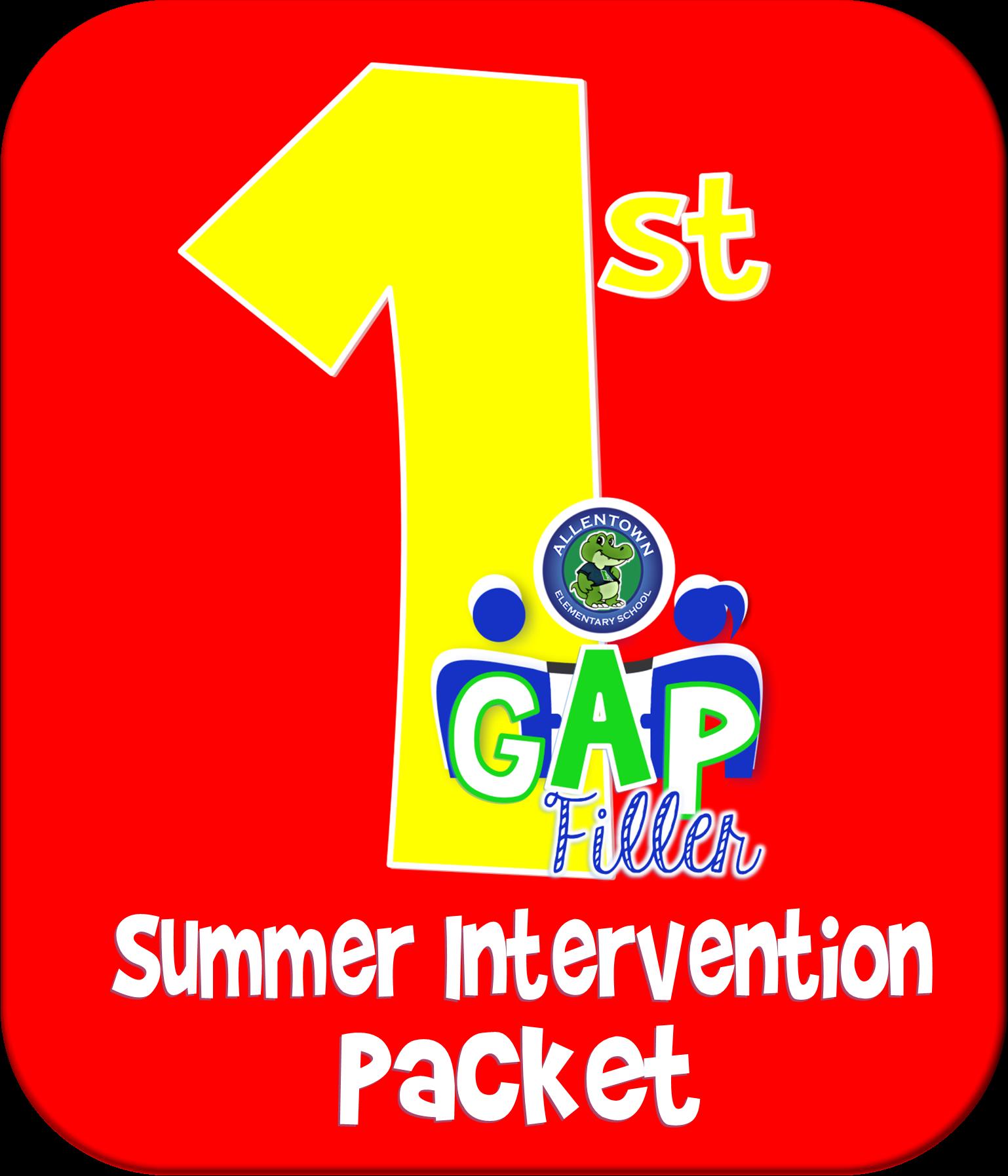 1st Grade Gap Filler