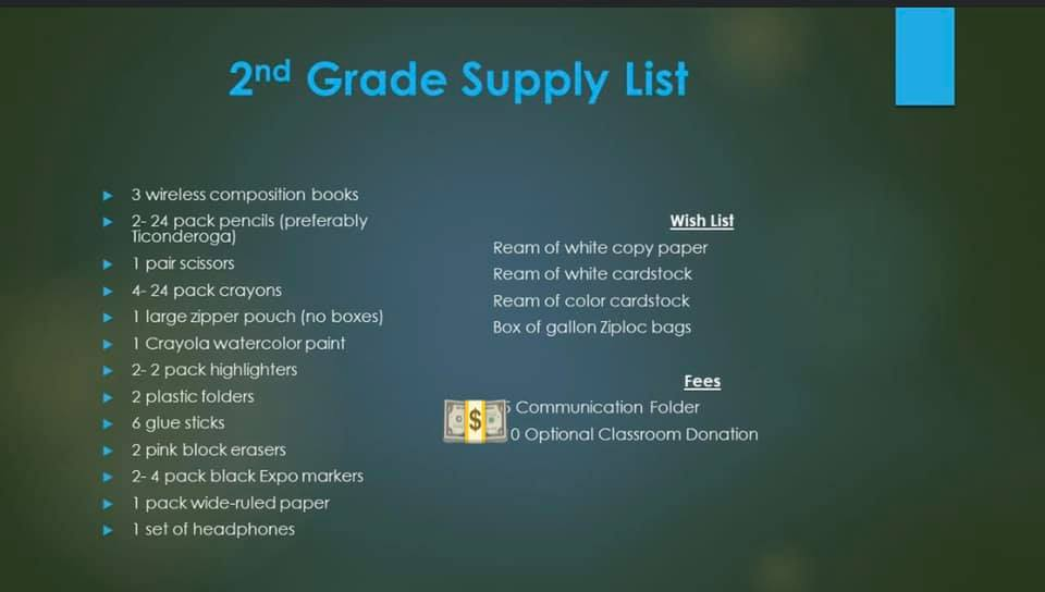 2nd Supplies