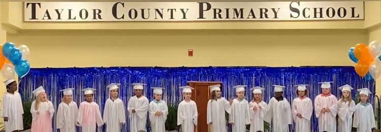VPK Students at PreK  graduation