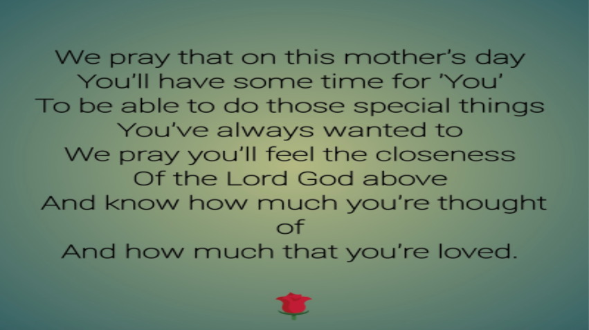 Tribute to Out Mothers