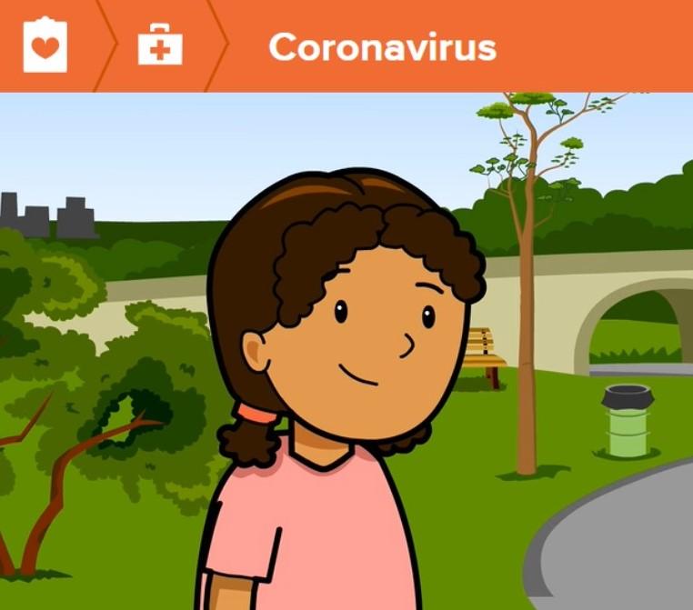 Explain coronavirus to kids