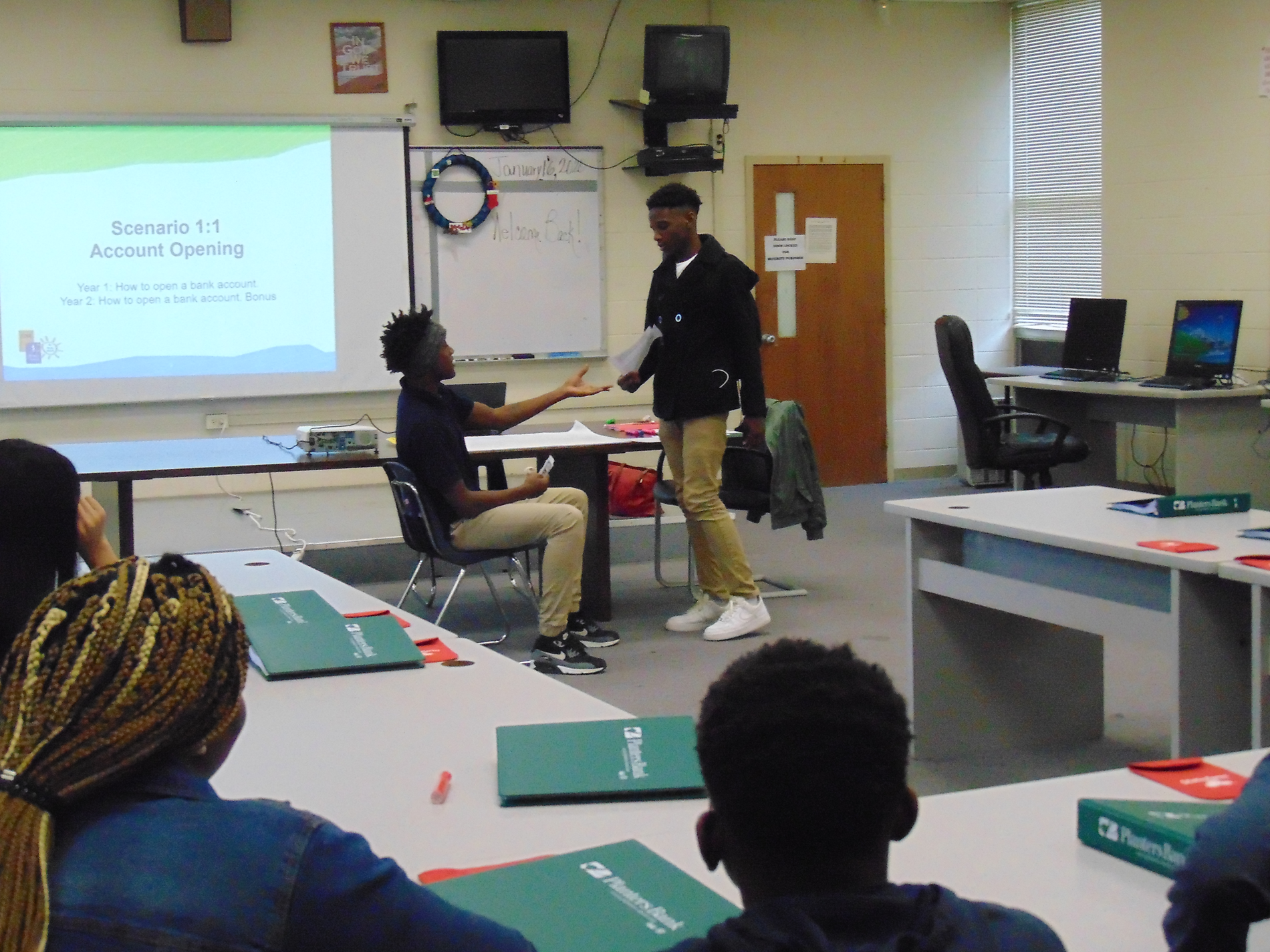 Financial Literacy simulation on the job interviews