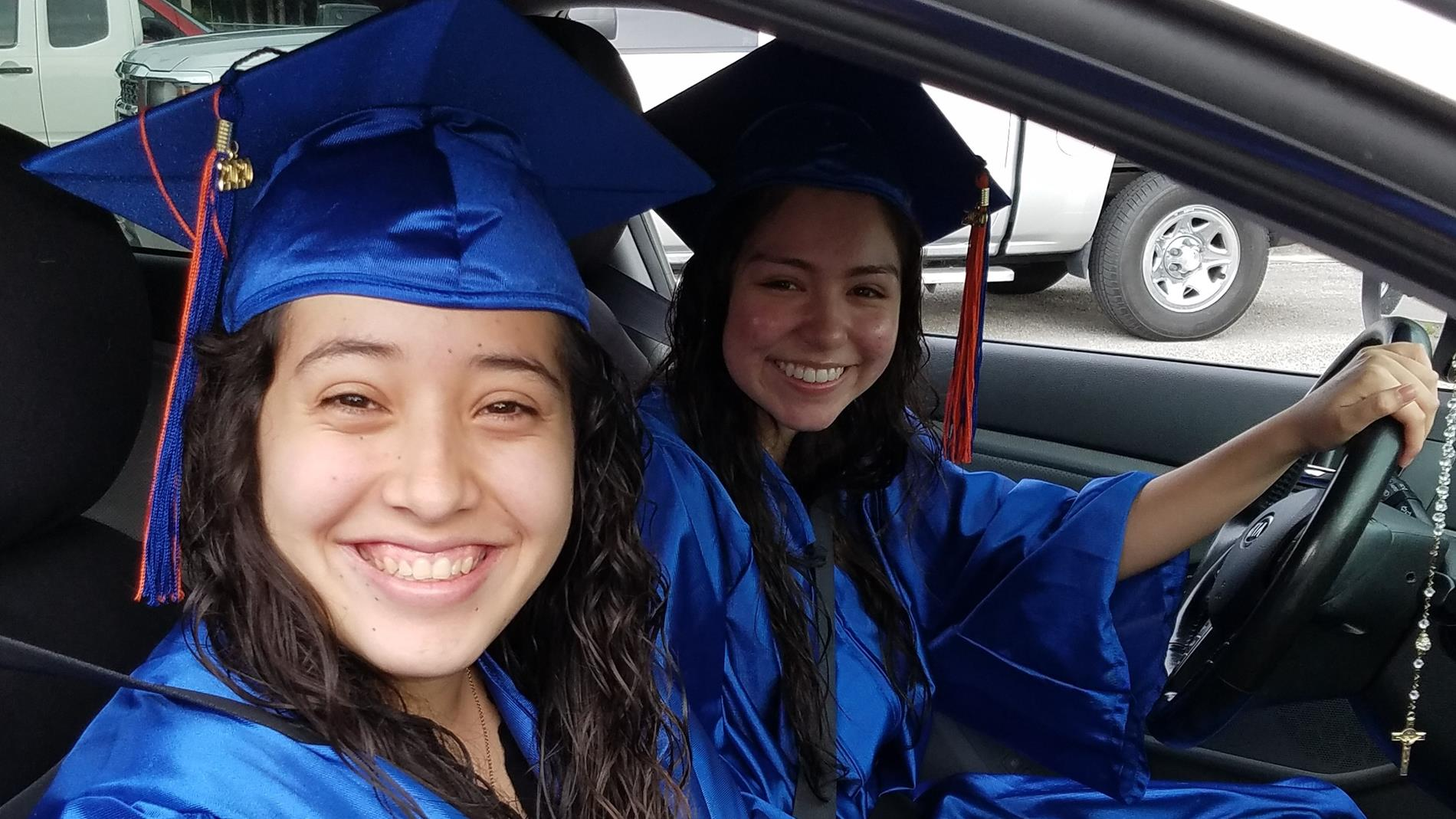 Lucia Galvez and Angela Ramirez