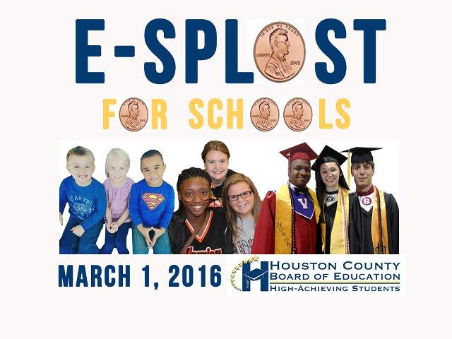 E-SPLOST 2016 Logo