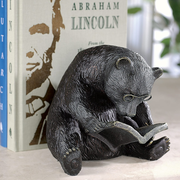 Bear Book Holder