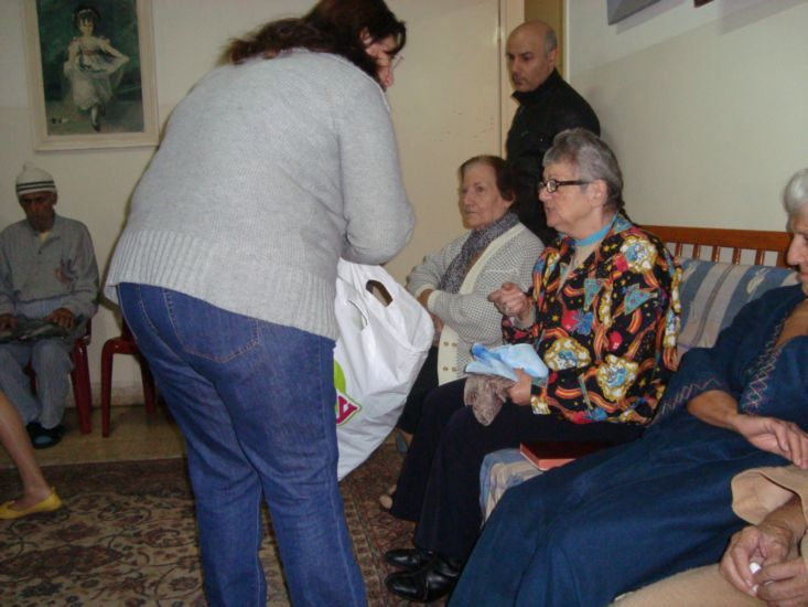 Speaking with Elderly