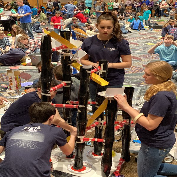 Beta Cats Engineering Team at convention
