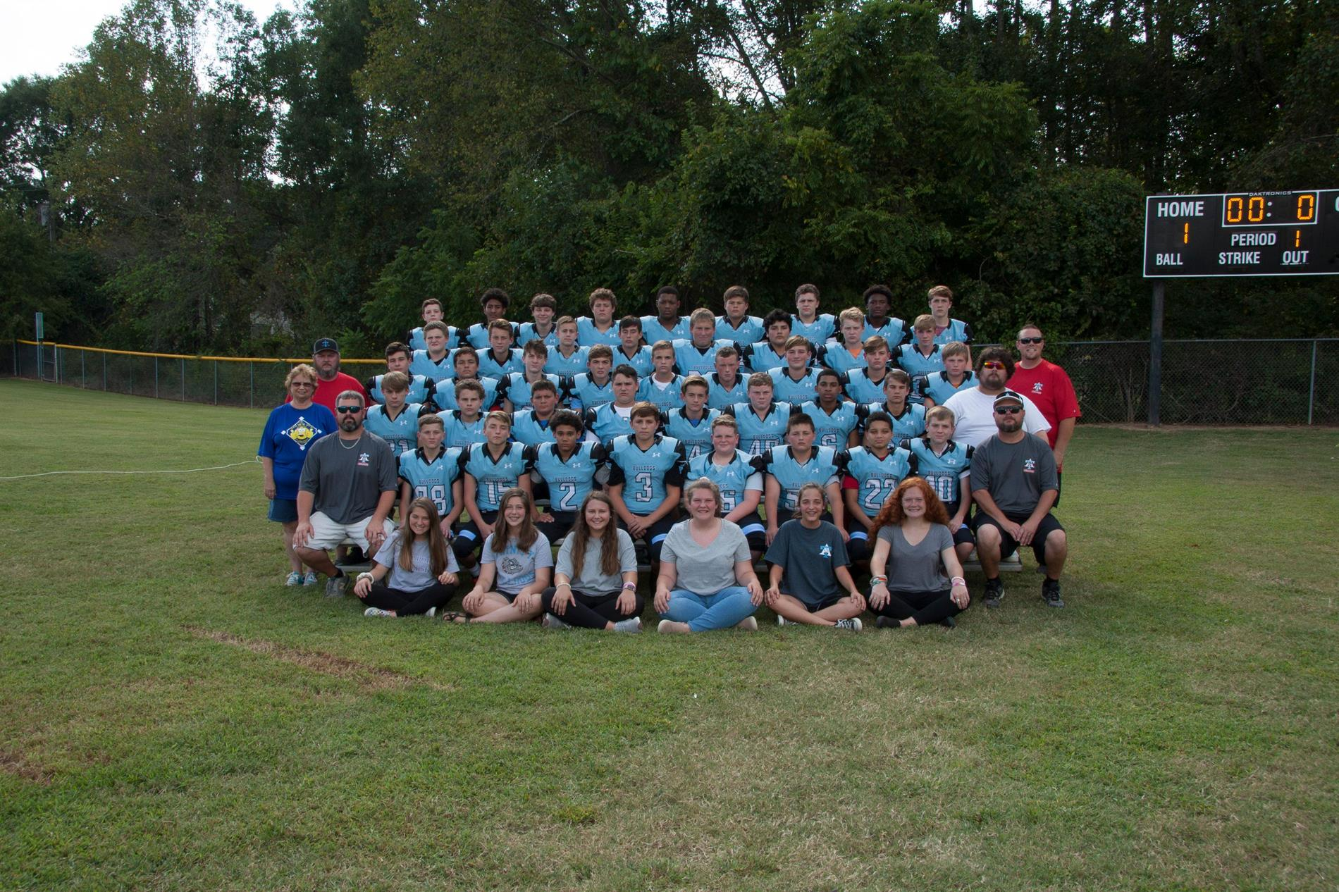 19-20 Football Team Photo