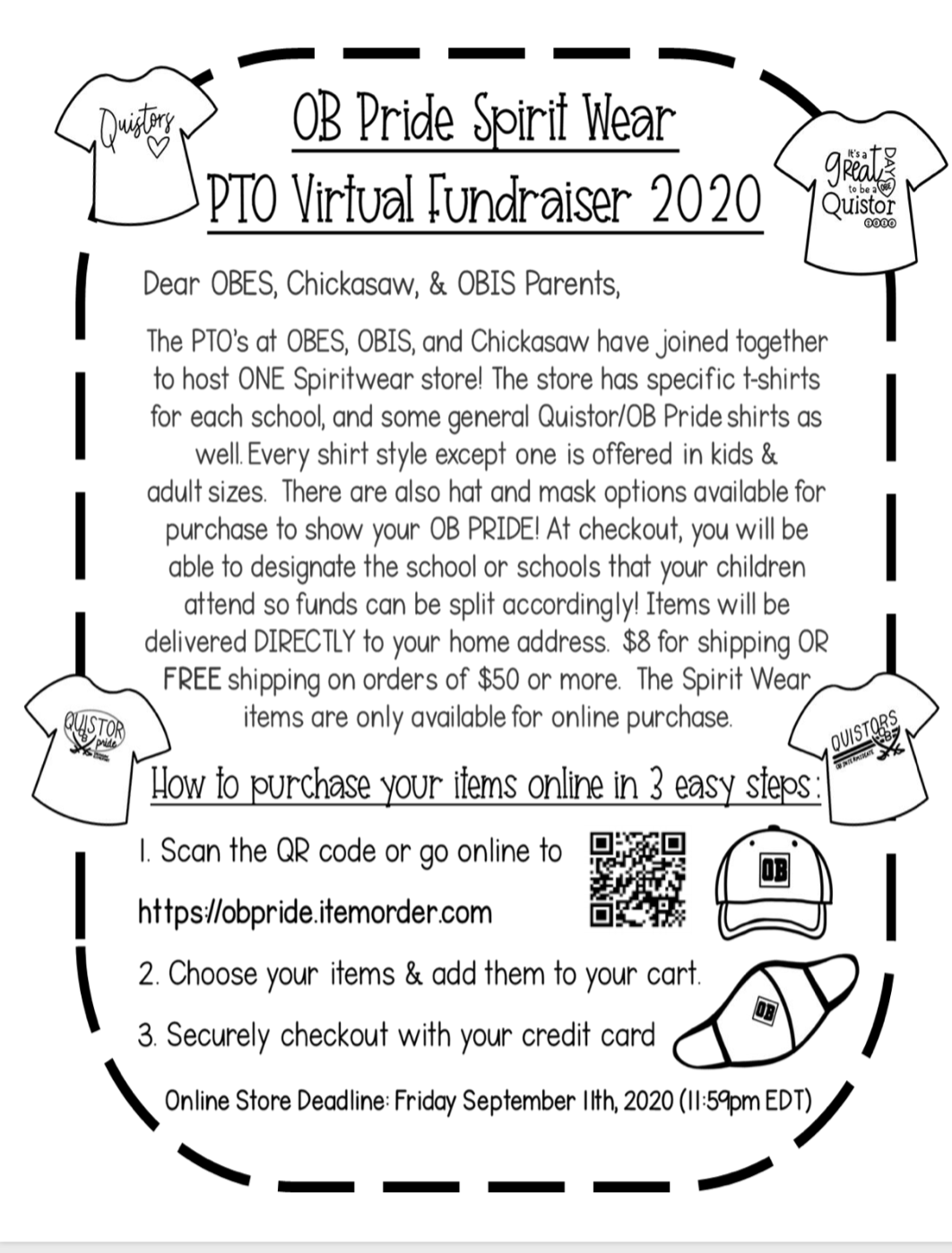 Please Support Our PTO's Virtual Fundraiser 2020!