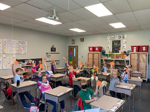 Yay! Mrs. Erin's class loves this fall activity.