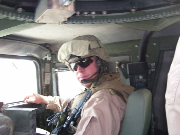 My office while deployed to Operation Iraqi Freedom 05-07 in 2006-2007