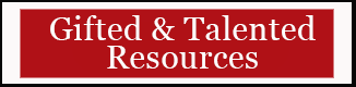 Gifted and Talented Resources