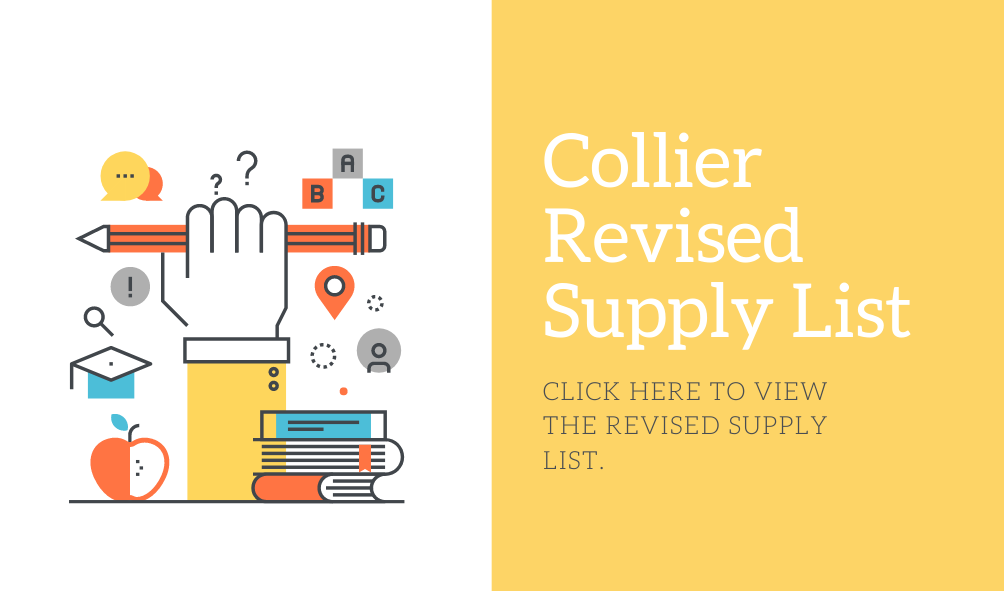 Collier Revised Supply Lists 2020