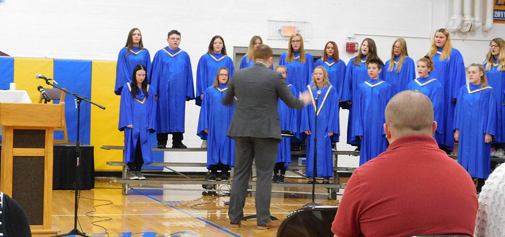 Jr Sr High choir