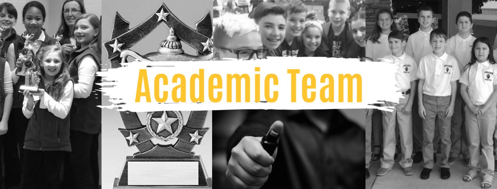 academic team banner