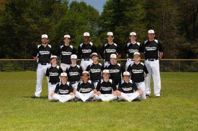 Baseball Junior High Team